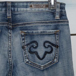 Express rerock boot womens jeans size 2 S 546